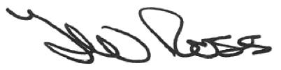 Lord Provost signatue